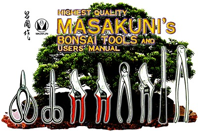 Masakuni Bonsai Tools